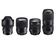Sigma announce four new lenses