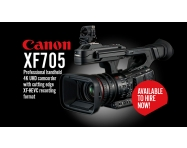 IN STOCK: Canon XF705 Professional Camcorder