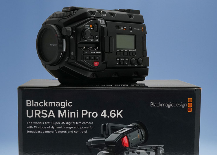 Blackmagic URSA Mini Pro now available!