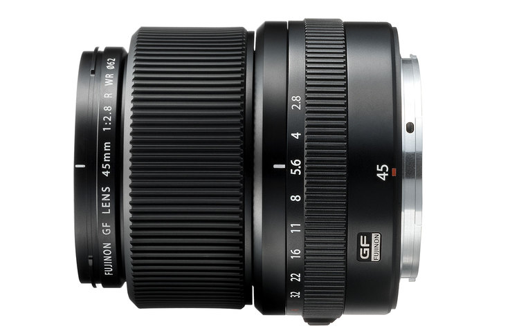 FUJIFILM GFX Series expands further with the FUJINON GF 45mmF2.8 R WR