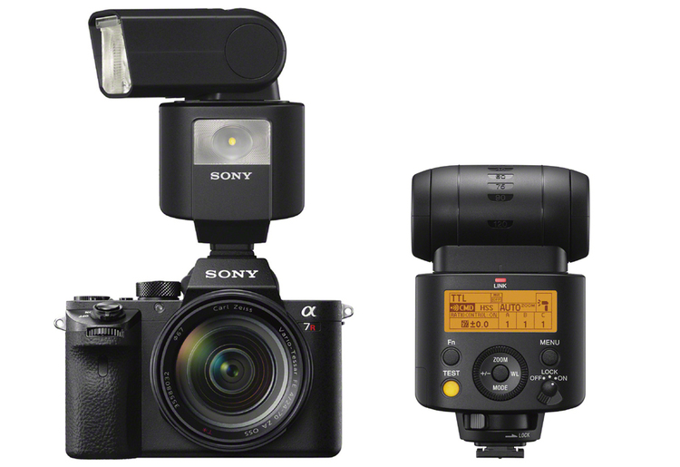 New compact radio-controlled flash from Sony