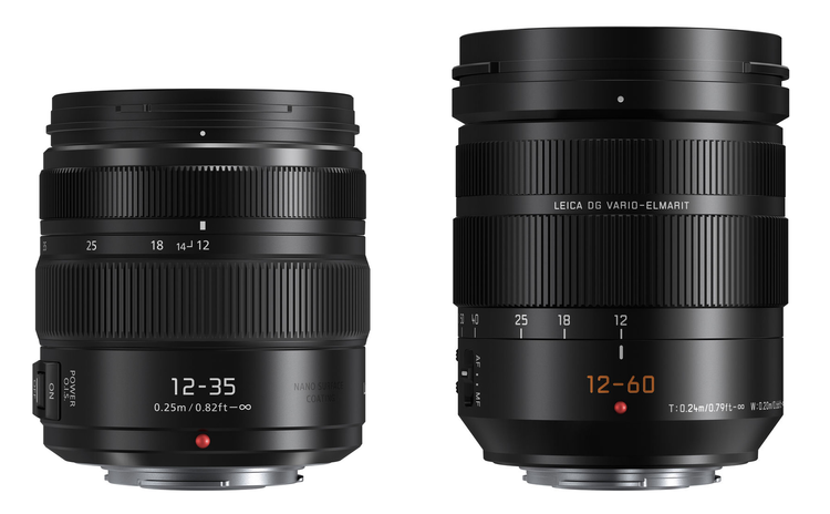New Lumix 12-35mm and 12-60mm Lumix lenses now in stock!