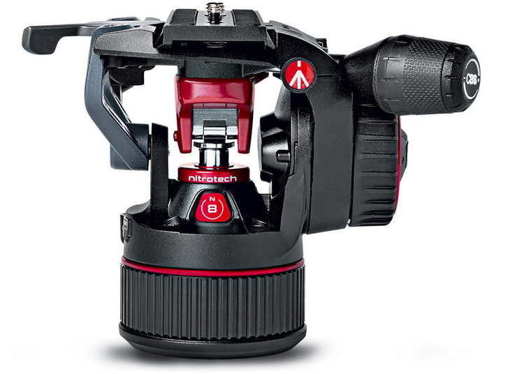 New video head from Manfrotto: Nitrotech N8
