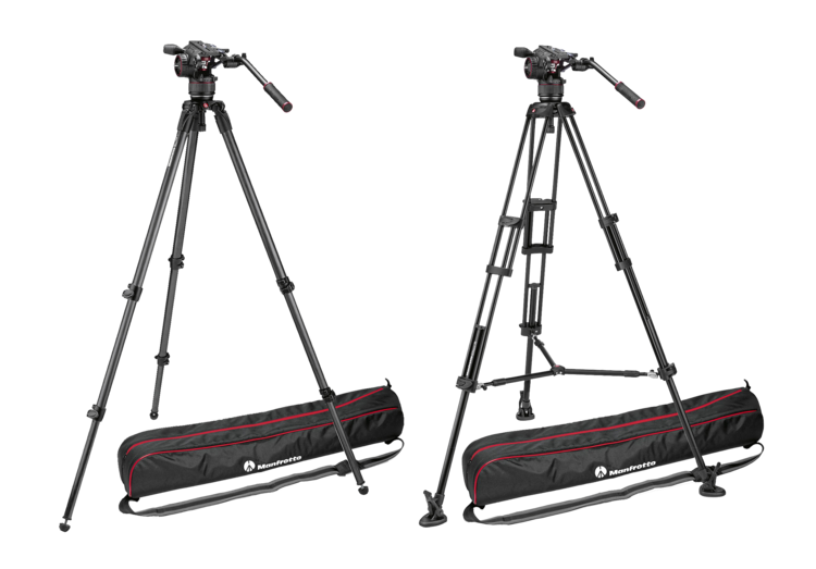 Manfrotto Nitrotech N8 Tripods now available