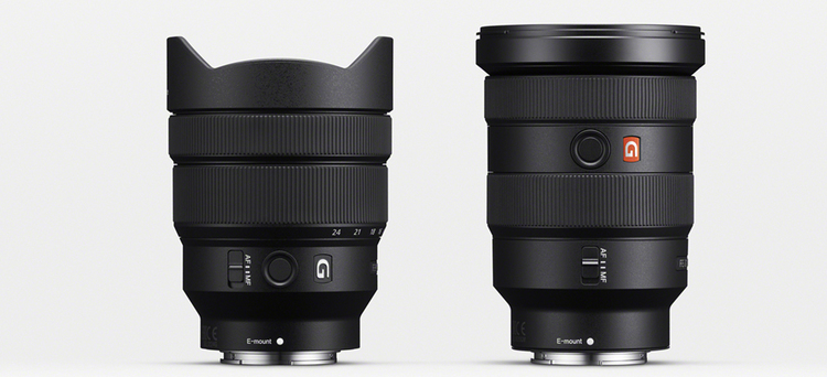 Sony announces 16-35mm f/2.8 GM and 12-24mm f/4 G wide angle zooms