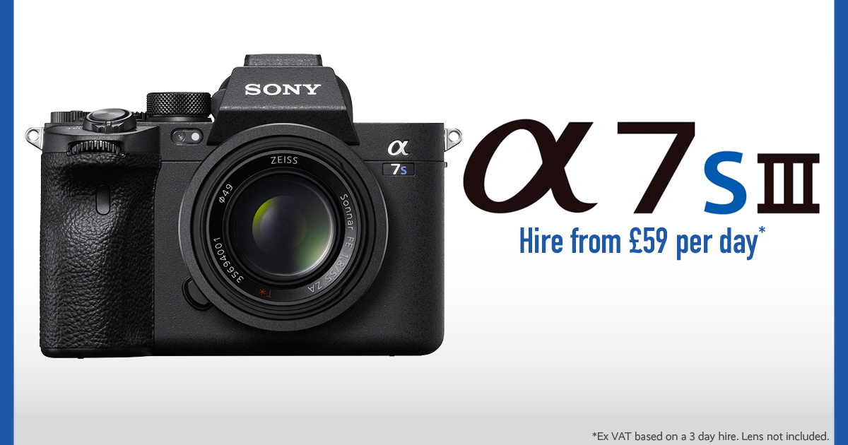 NEWS: The Sony a7S III has Arrived!