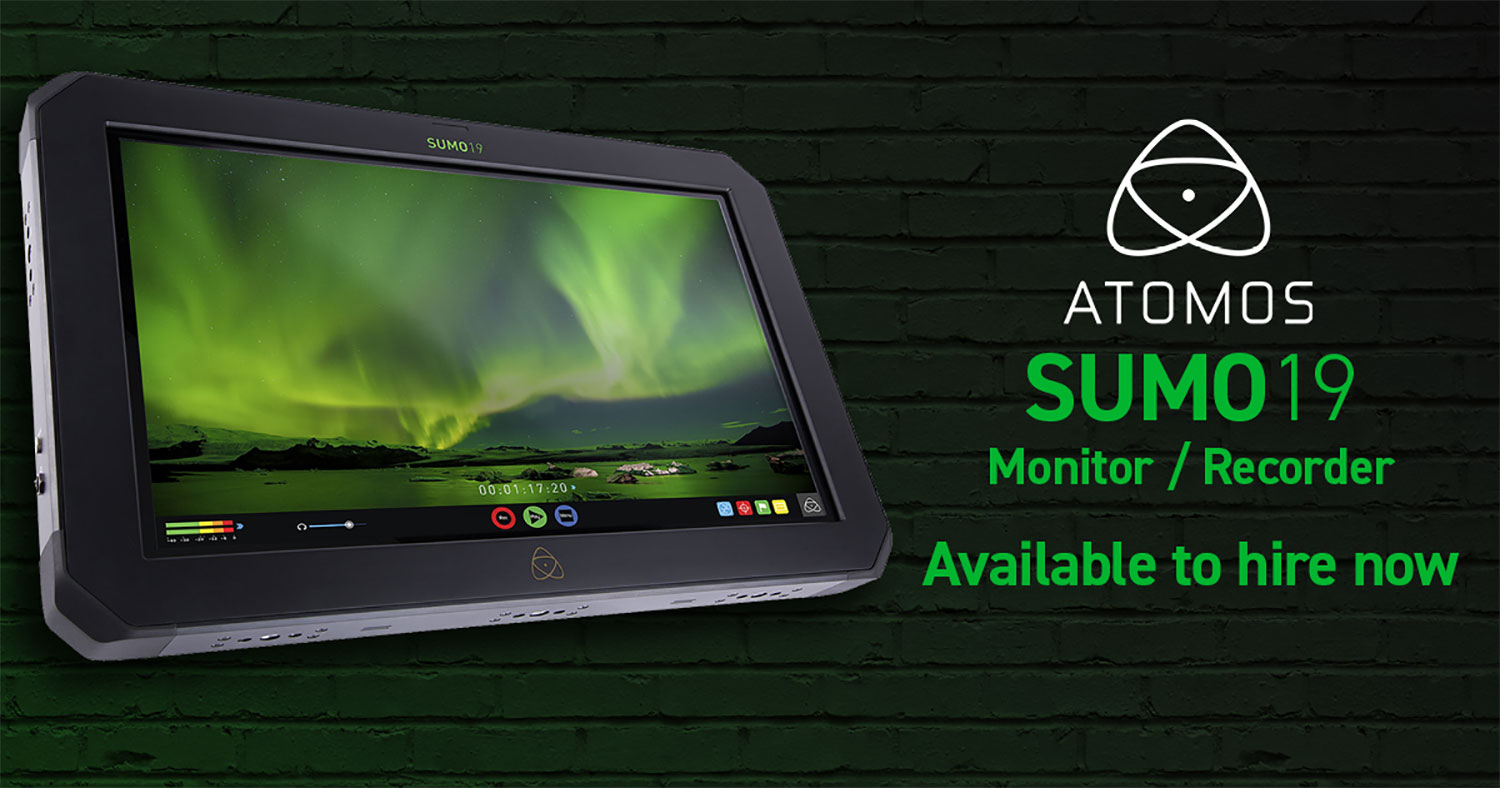 NOW IN STOCK: The Atomos Sumo19 ProRes Recorder