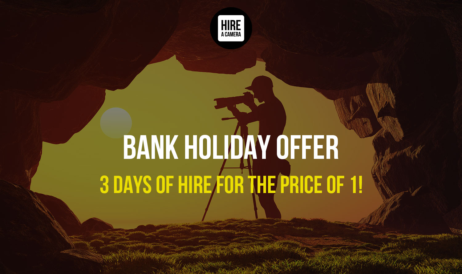 BANK HOLIDAY OFFER: Get 3 Days of Hire for The Price of 1!