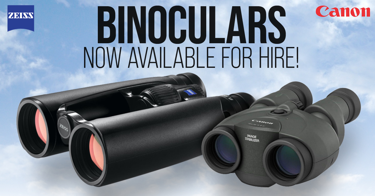 NEWS: Binoculars Now Available for Hire!