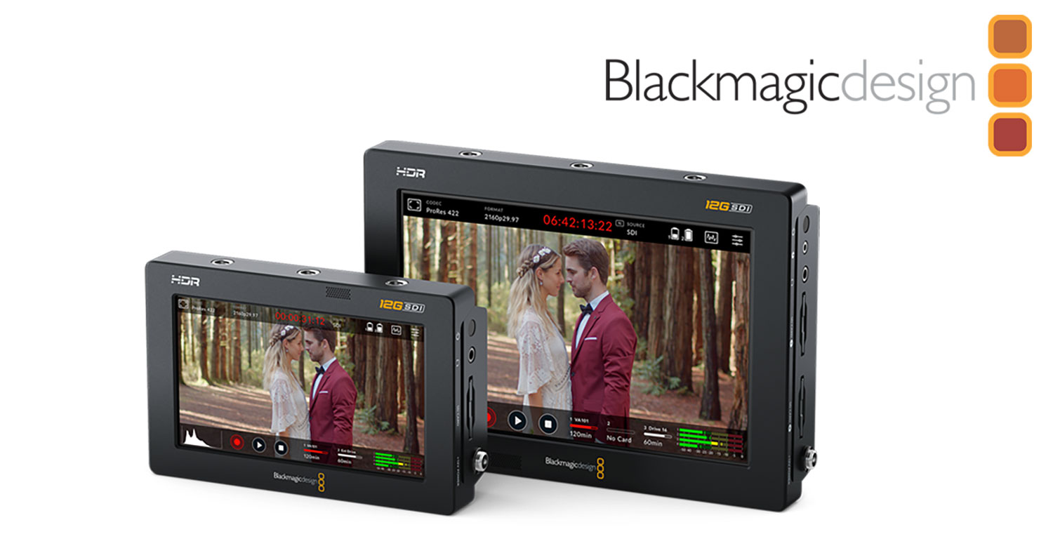 NEWS: Blackmagic Design Announces New Blackmagic Video Assist 12G Monitor/Recorders