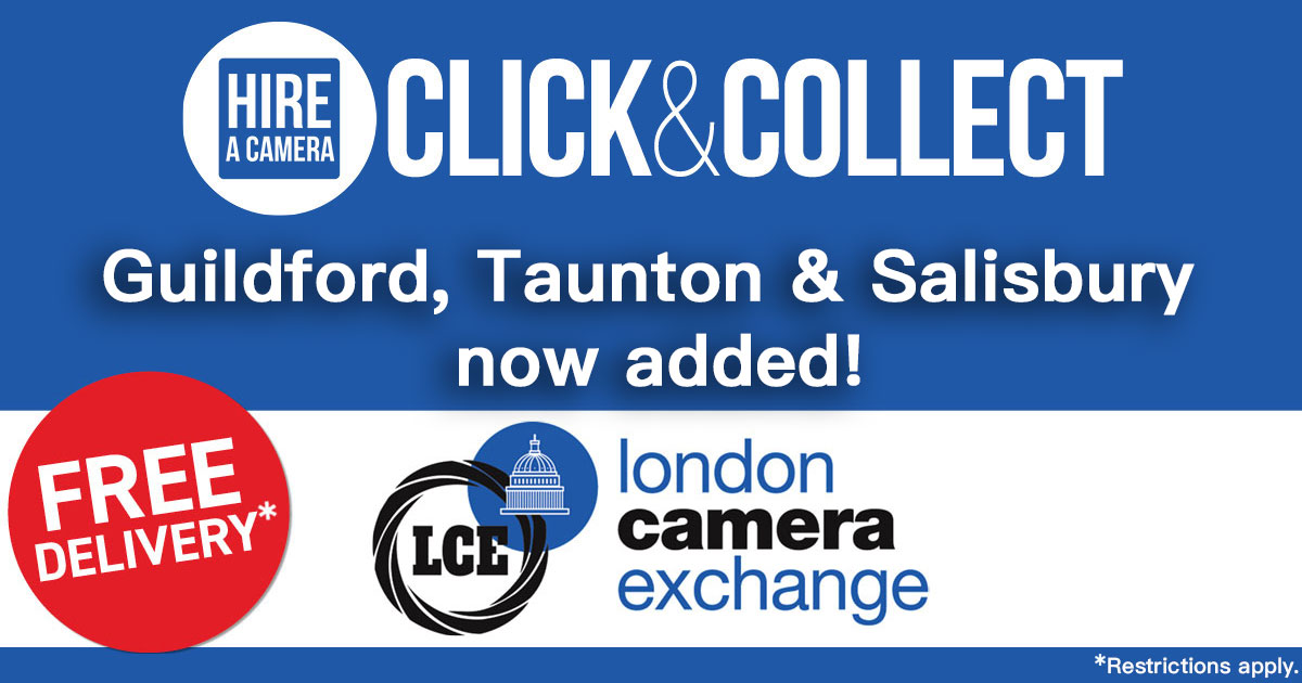 New Click & Collect Points Added at LCE, Guildford, Taunton & Salisbury