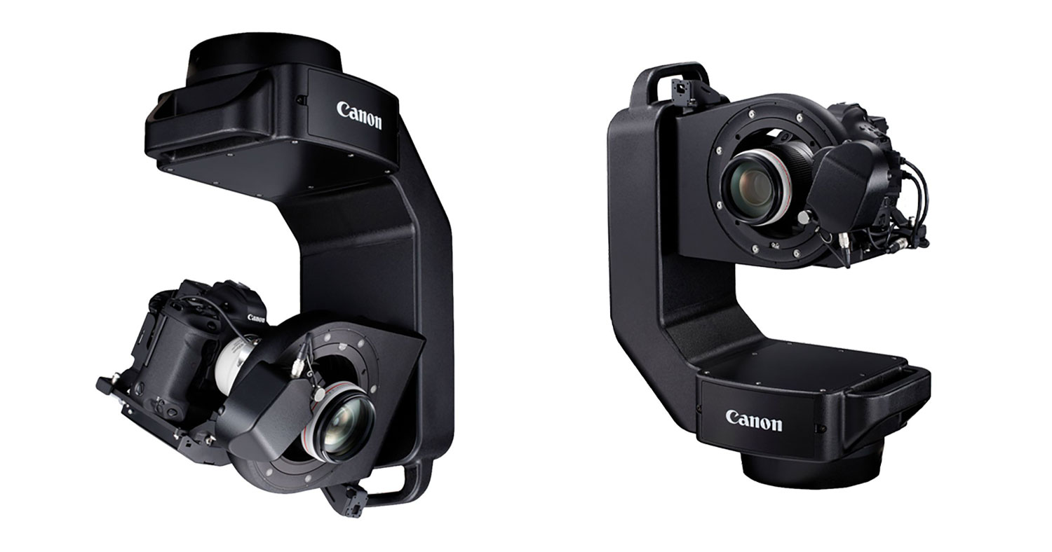 NEWS: Canon announces the Robotic Camera System CR-S700R