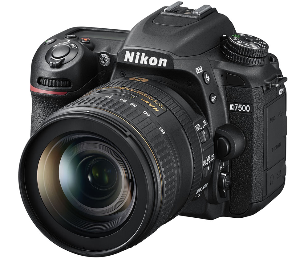 Nikon D7500: First look and key specifications