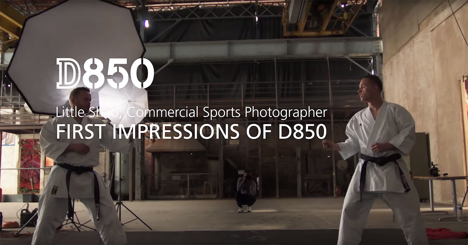 VIDEO: Photographer Little Shao's First Impressions of the Nikon D850 When Shooting Sports