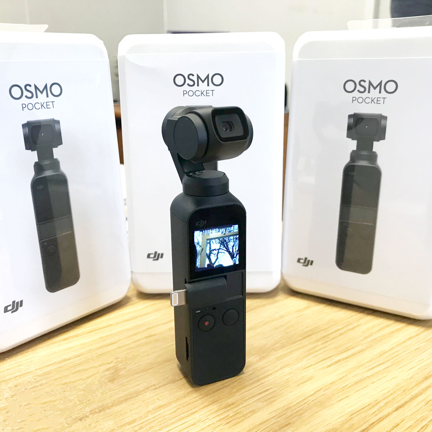 NOW IN STOCK: The DJI Osmo Pocket