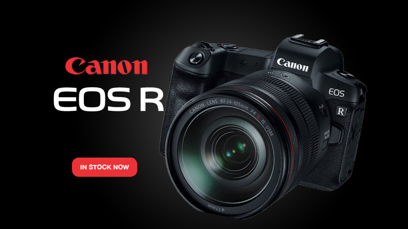 NOW IN STOCK: The Canon EOS R + RF 24-105mm f/4L IS USM