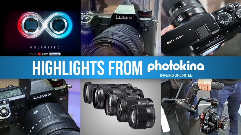 Our Highlights from Photokina 2018
