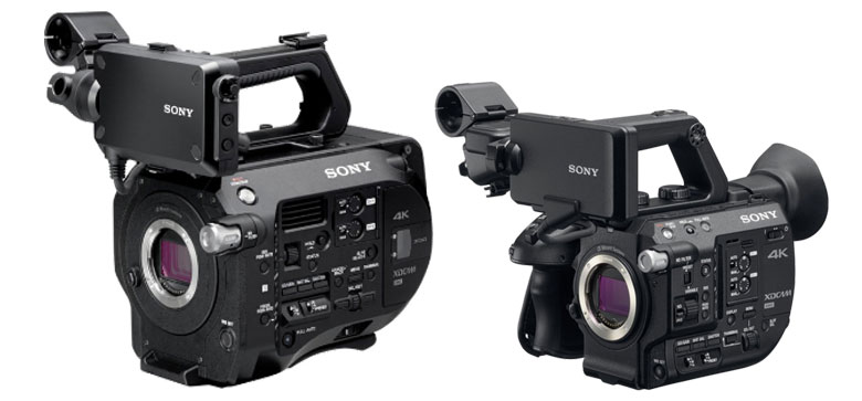 Sony PXW-FS5 and PXW-FS7 - the differences (with the a7S II thrown in)