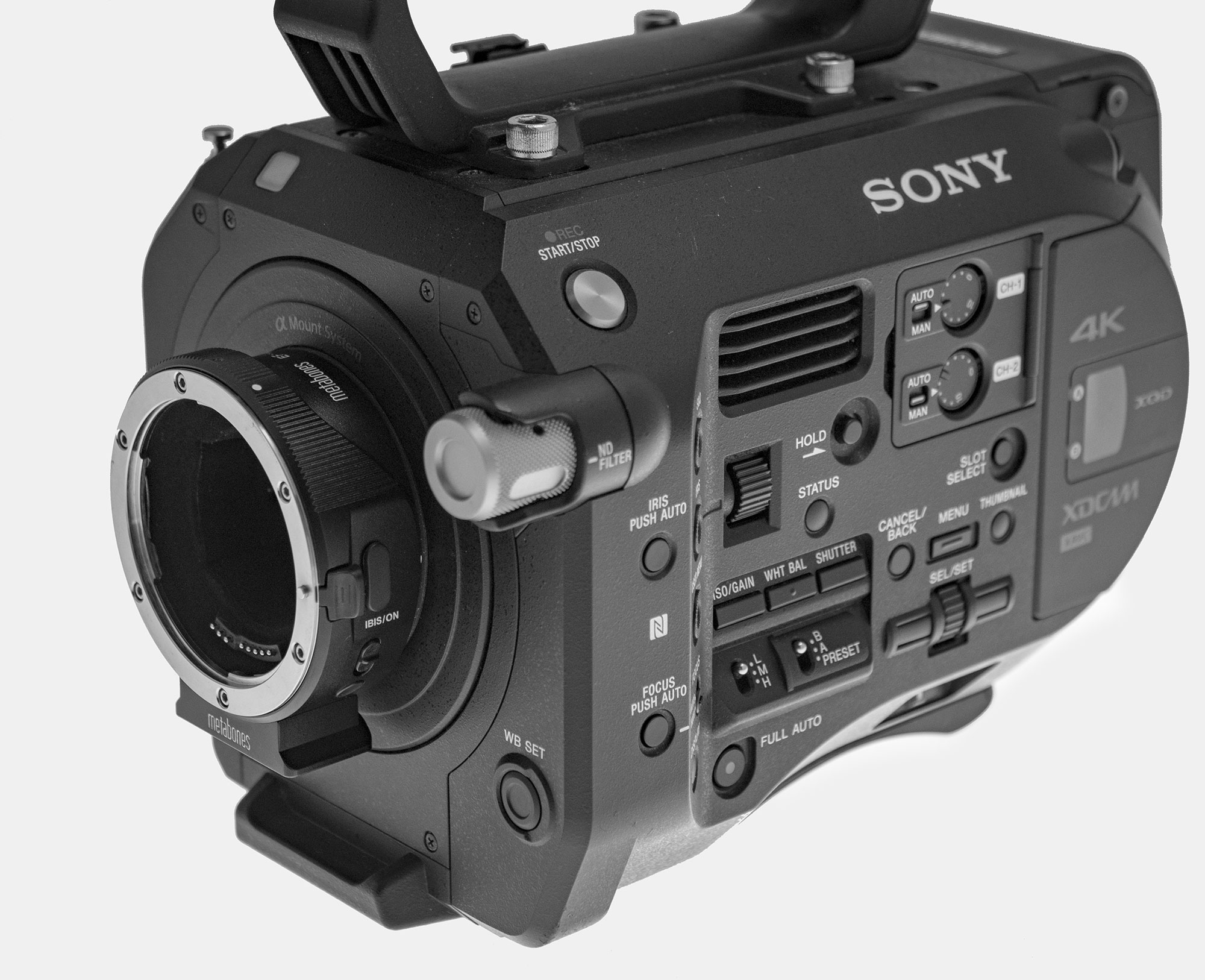 Sony FS7's now supplied with Metabones adaptor