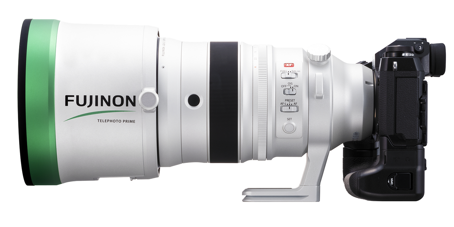 JUST ANNOUNCED: The New FUJINON XF200mmF2 R LM OIS WR Telephoto Lens and FUJINON XF1.4X TC F2 WR Teleconverter