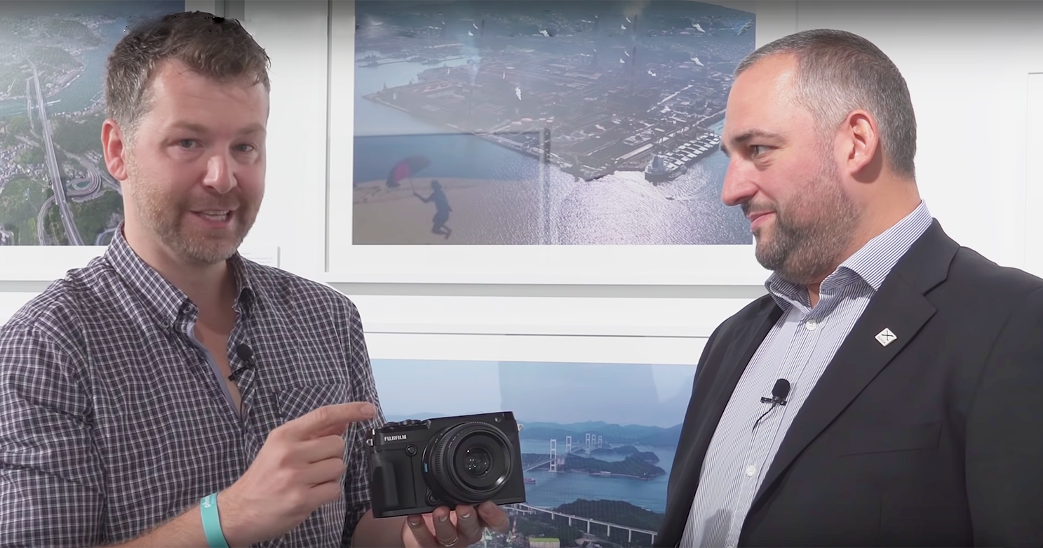 INTERVIEW: Richard Sibley from Photo Gear News, supported by Hireacamera speaks to the Manager of Fujifilm UK