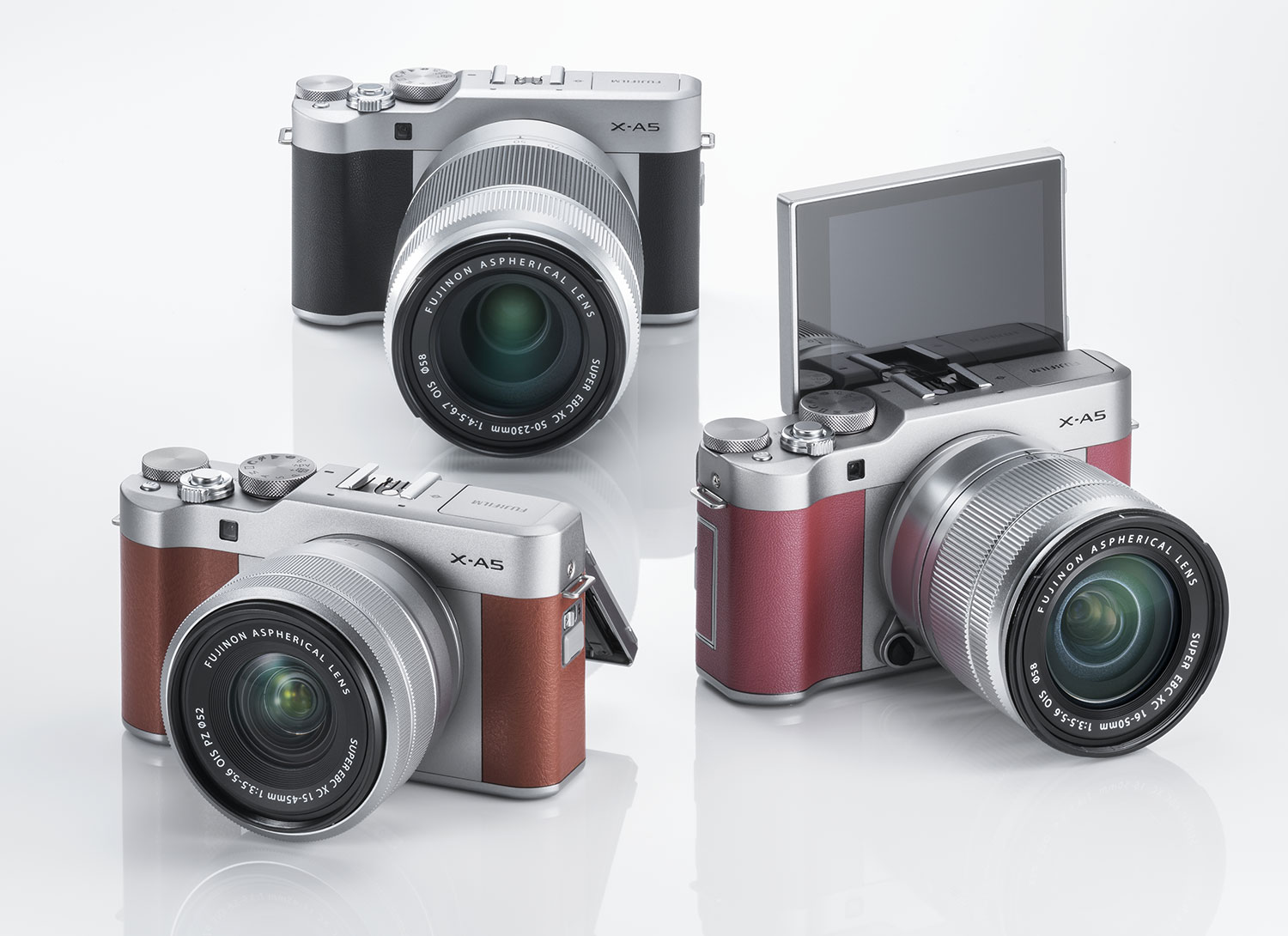 NEWS: Just announced! The FUJIFILM X-A5