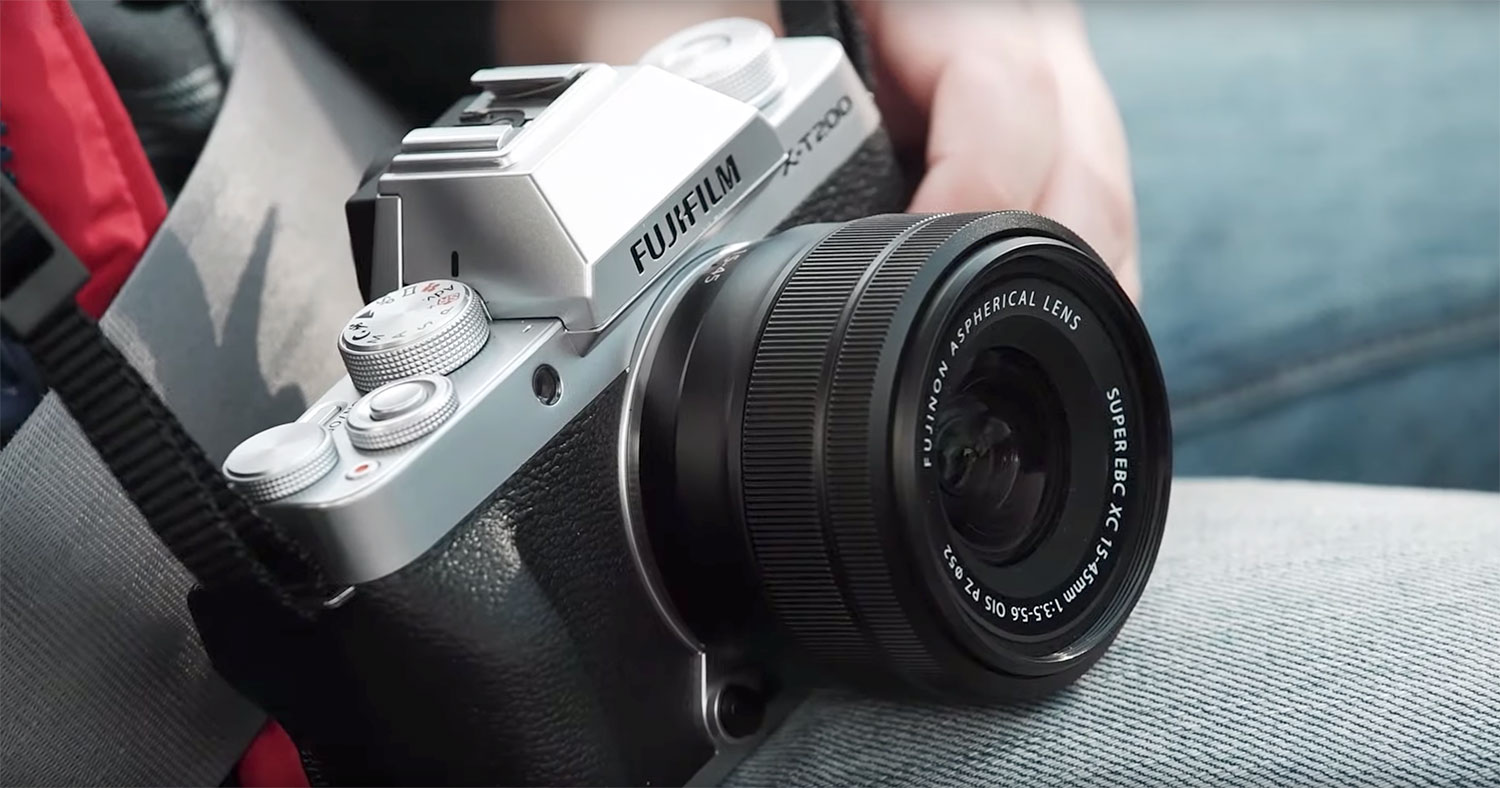 "JUST ANNOUNCED: Fujifilm Launches Mirrorless Digital Camera ""FUJIFILM X-T200"""