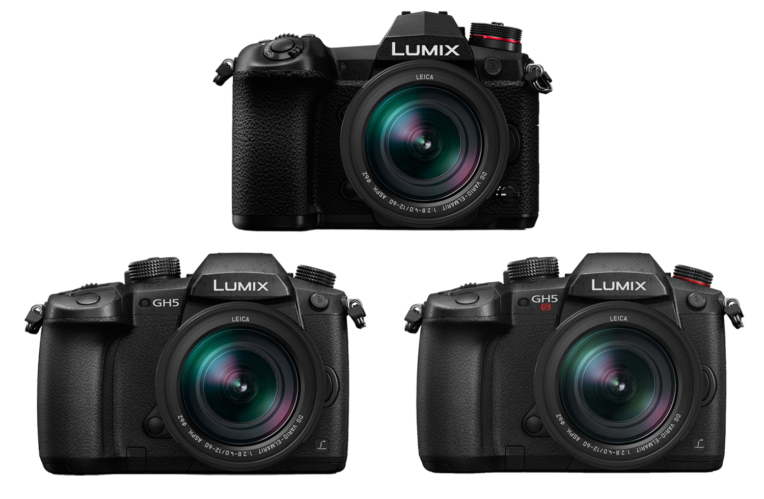 Firmware updates for the Panasonic LUMIX G9, GH5 & GH5S May 2018