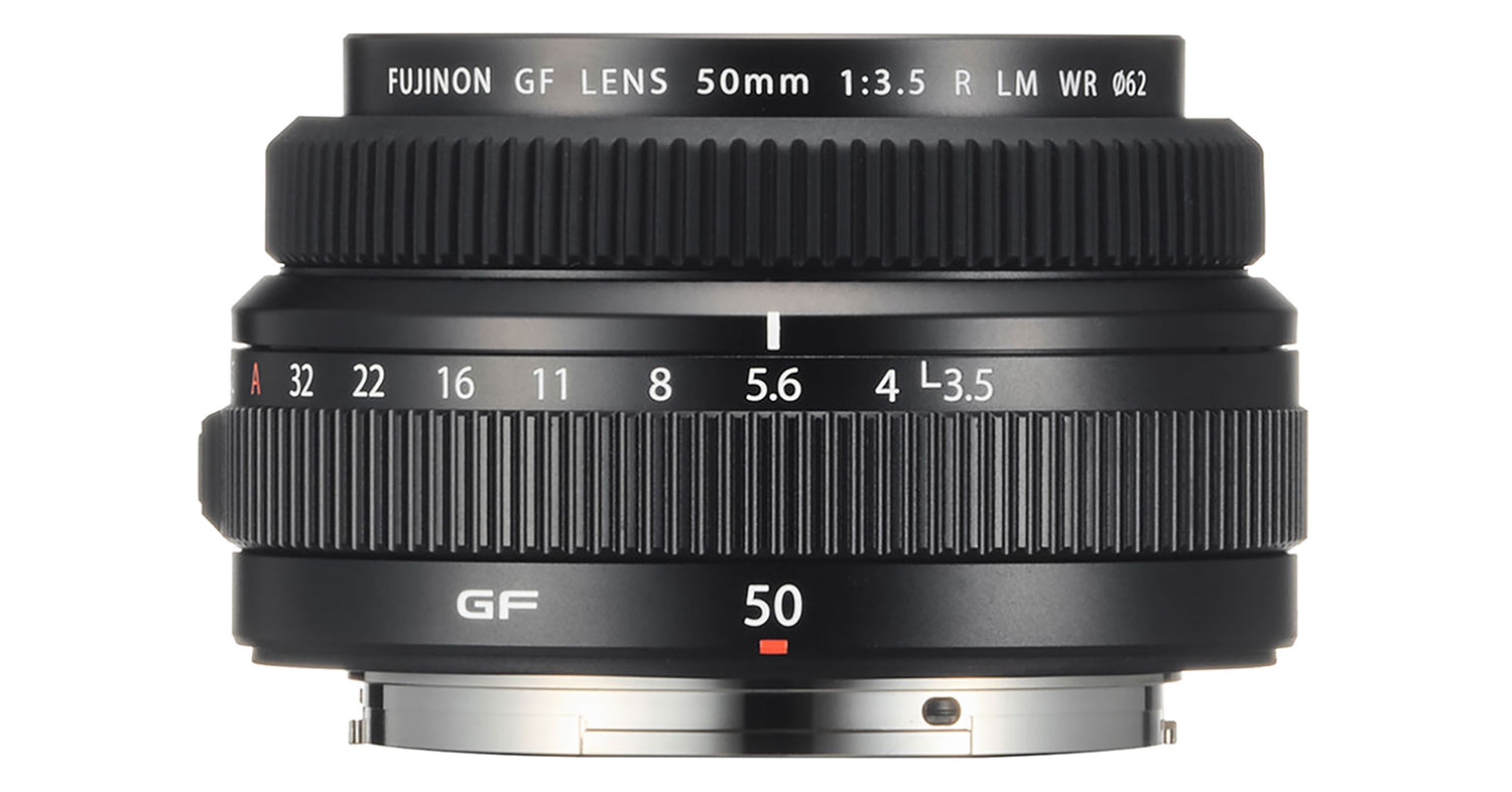 JUST ANNOUNCED: FUJINON launches GF50mm F3.5 R LM WR