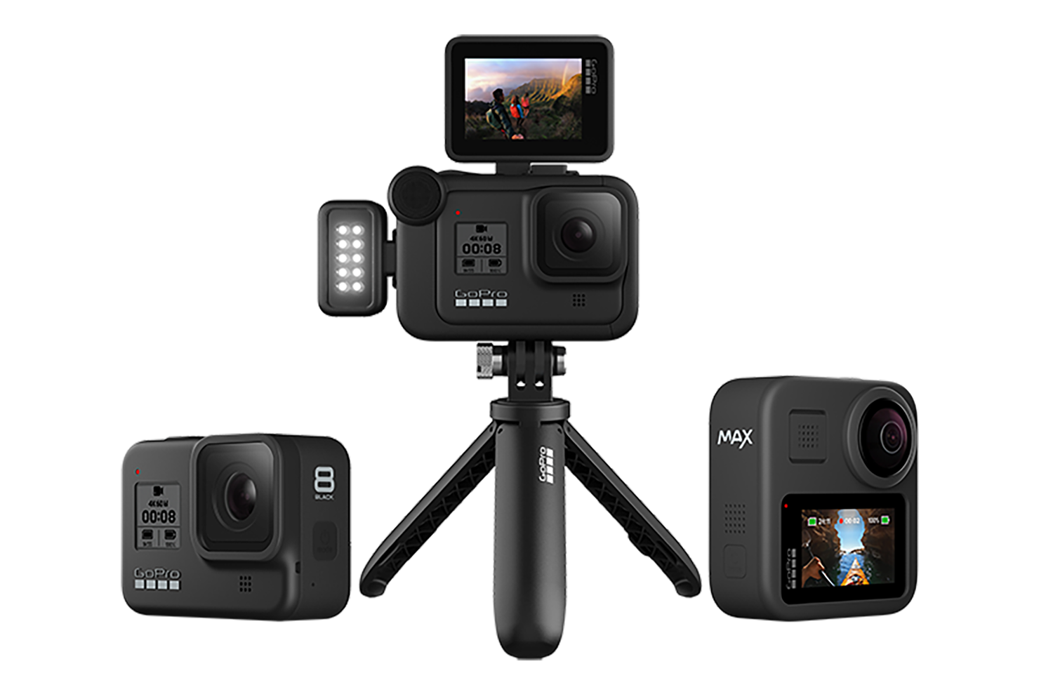JUST ANNOUNCED: Camera, Lights, Action! GoPro Introduce HERO8 Black and Max Action Cameras
