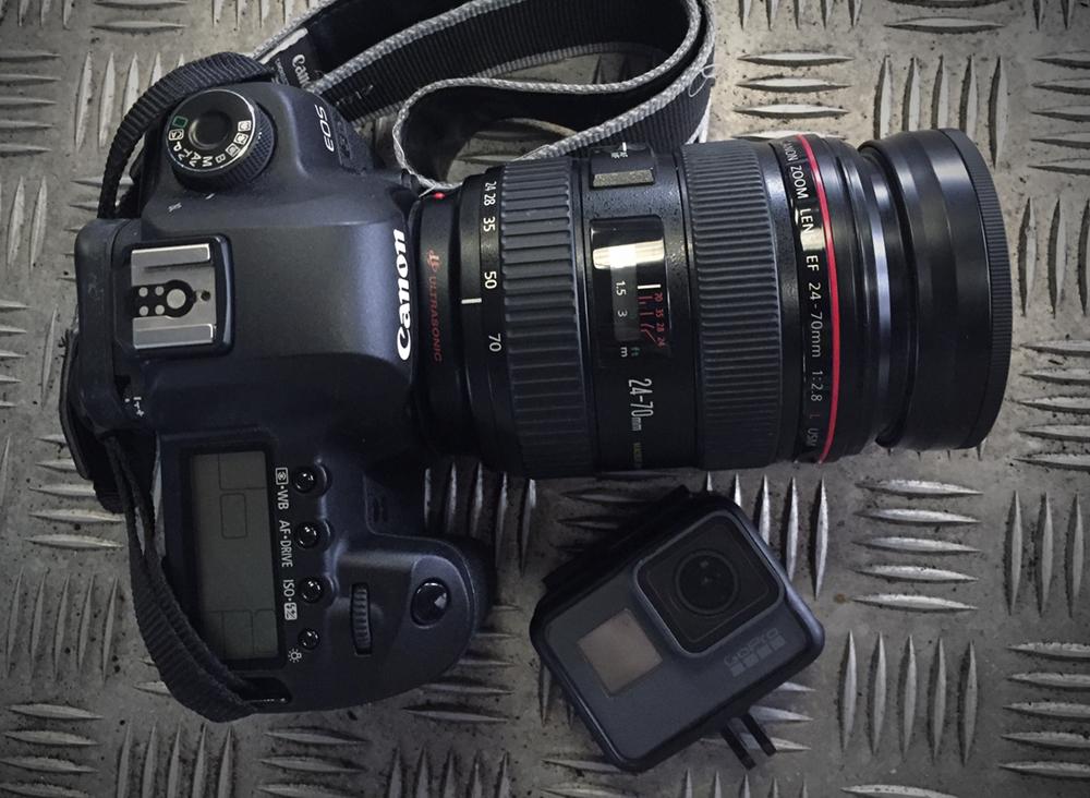 Nak beli kamera atau gopro?