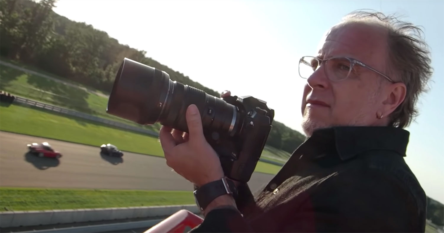 VIDEO: Shooting High Octane Motorsports with the Olympus OM-D E-M1X