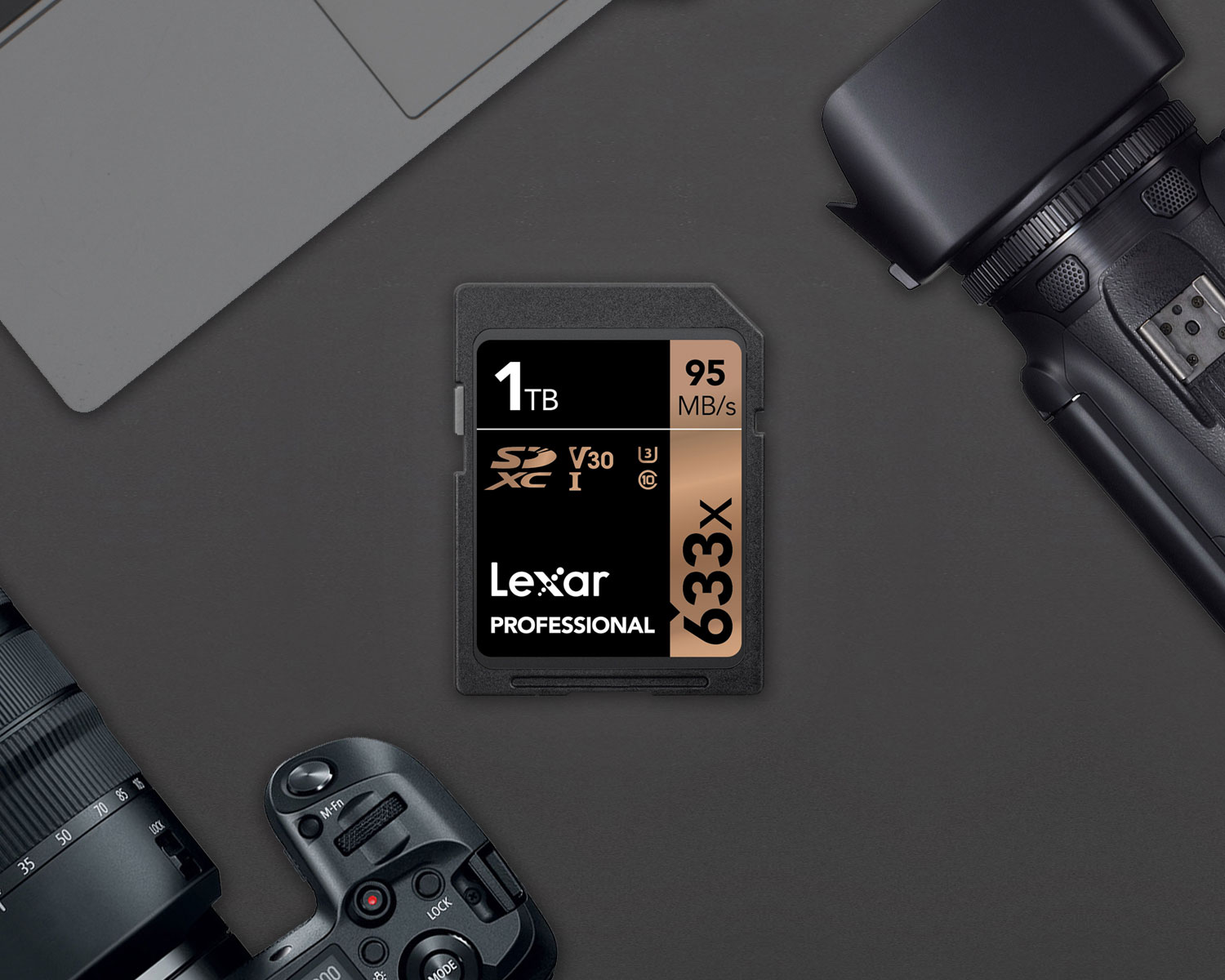 JUST ANNOUNCED: Lexar Announces 1TB 633x SDXC UHS-I card