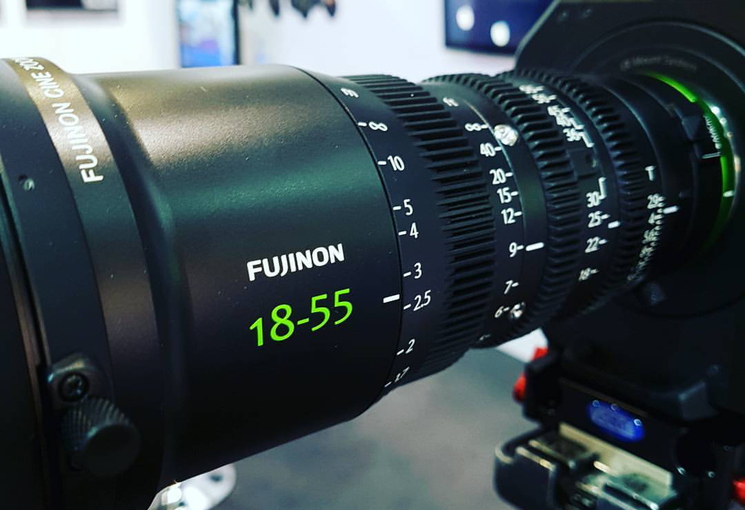 Quick hands on with the Fujinon MK 18-55mm Cine lens