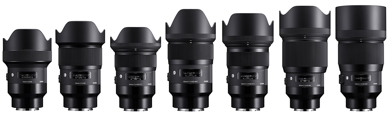 Sigma Art Prime Lenses For Sony E Mount Cameras Just Announced