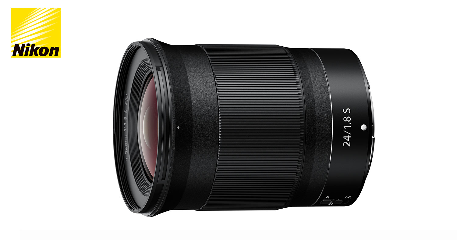 NEWS: Nikon Introduces the NIKKOR Z 24MM F/1.8 S Wide Angle Lens