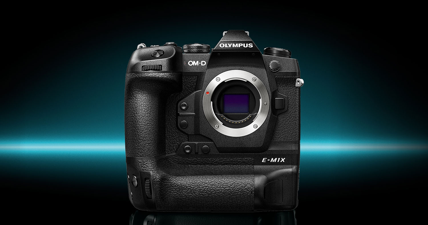 NOW IN STOCK: Olympus OM-D E-M1X