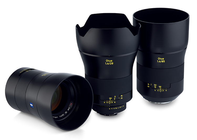 ZEIS ZE Otus lenses now available for hire!
