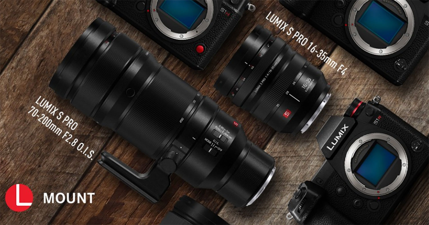 NEWS: Panasonic Launches Two New L-Mount Interchangeable Lenses