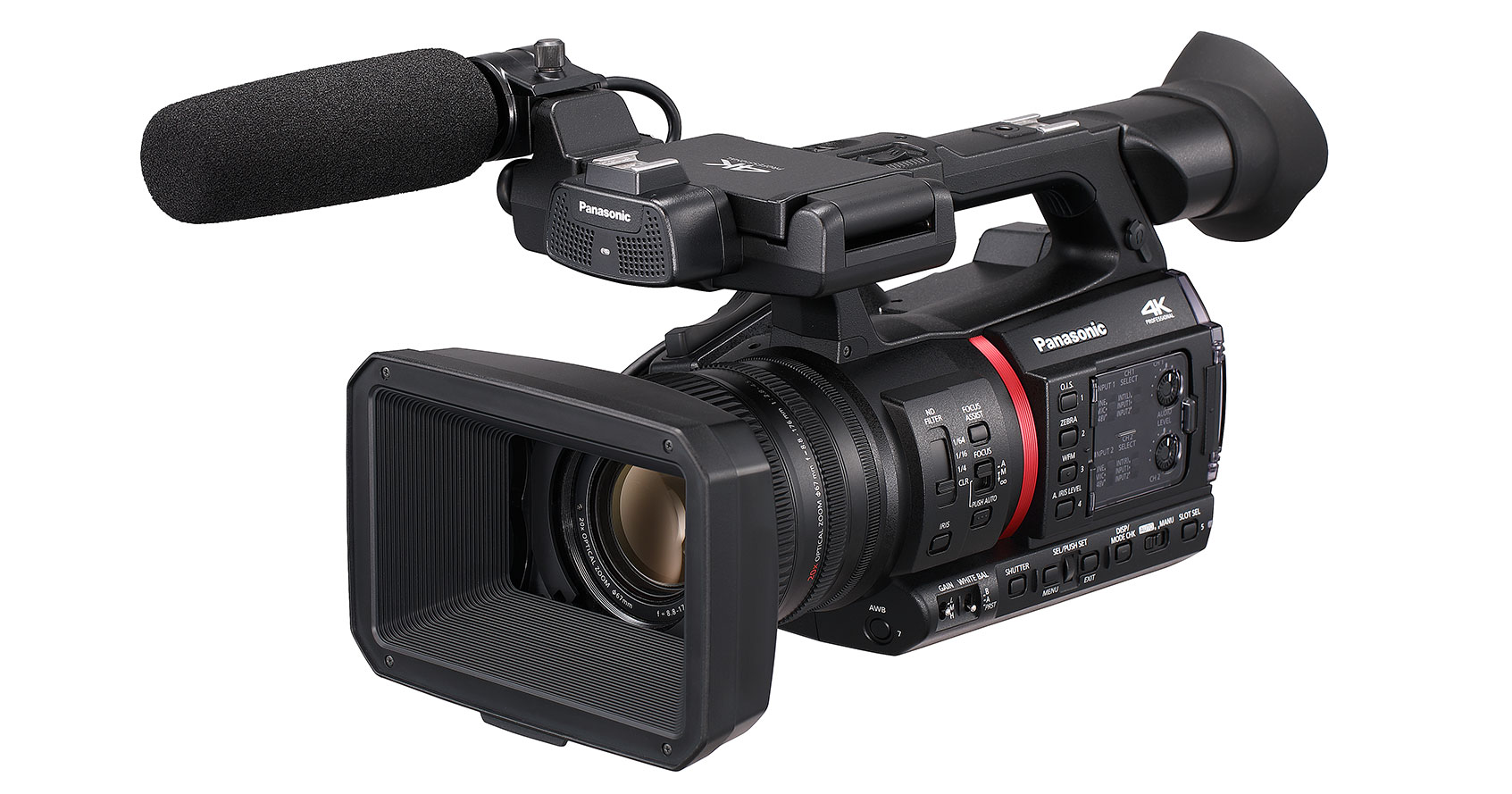 NEWS: Panasonic announces the next generation of camcorders with the AG-CX350