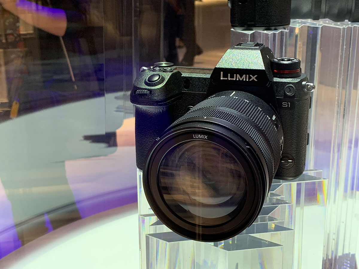 NEWS: More key features of the Panasonic S1 & S1R