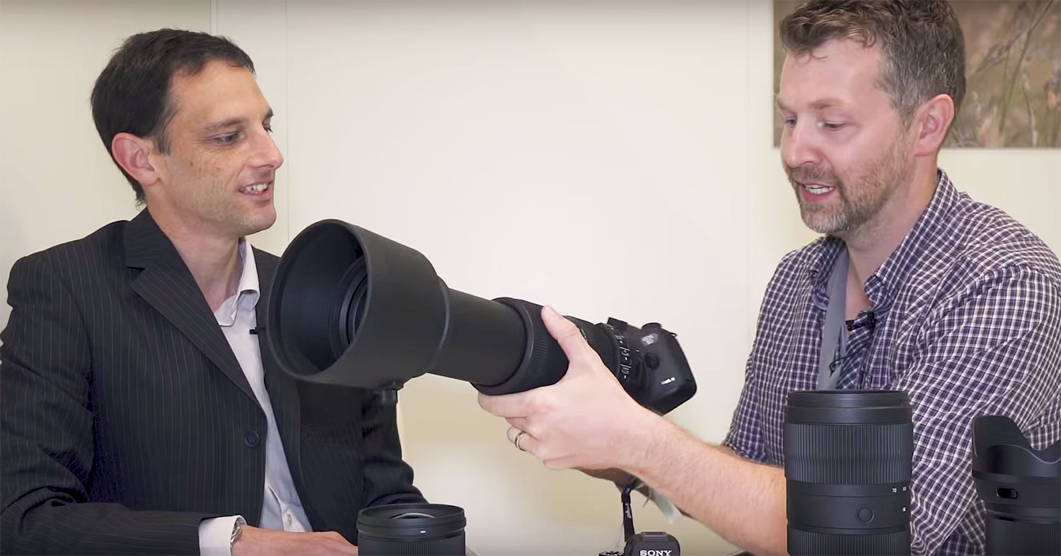INTERVIEW: Photo Gear News, supported by Hireacamera, speaks to Sigma about their new lens line-up