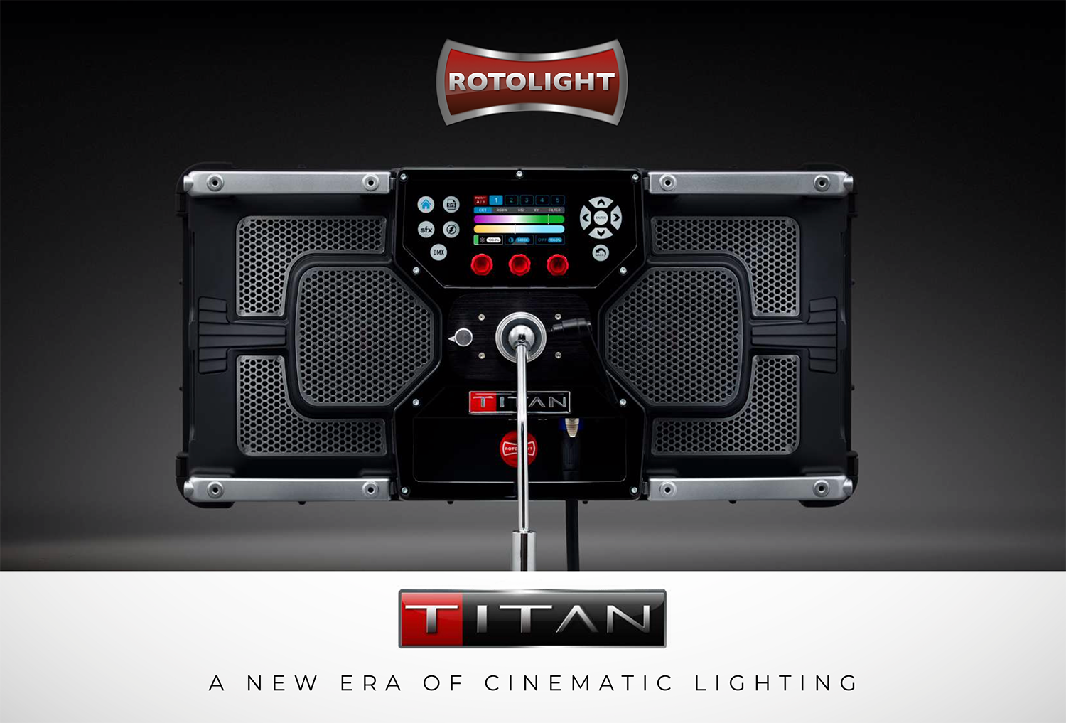 JUST ANNOUNCED: Rotolight Titan X2 LED Soft Light