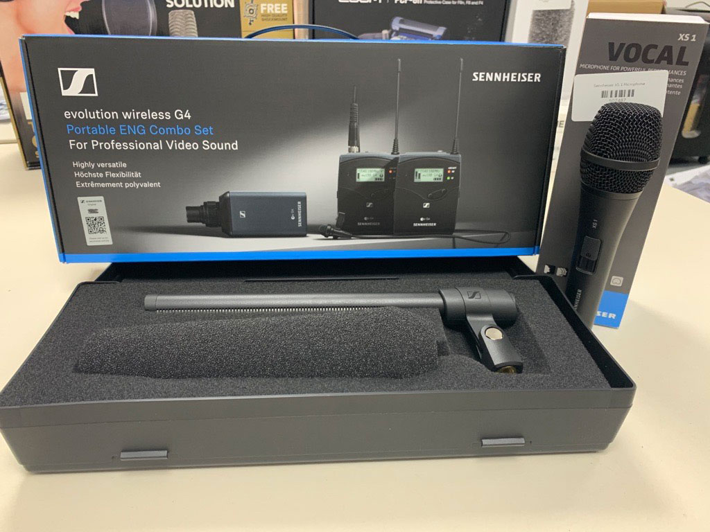 NOW IN STOCK: Sennheiser EW 100 ENG Wireless Microphone System