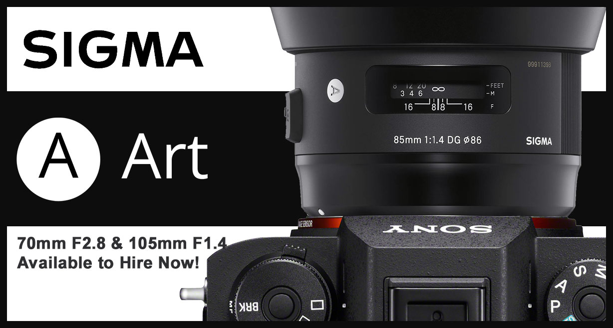 NOW IN STOCK: The Sigma 105mm f2.8 ART in Canon EF & the 70mm f2.8 ART in Canon EF & Sony E-mount!