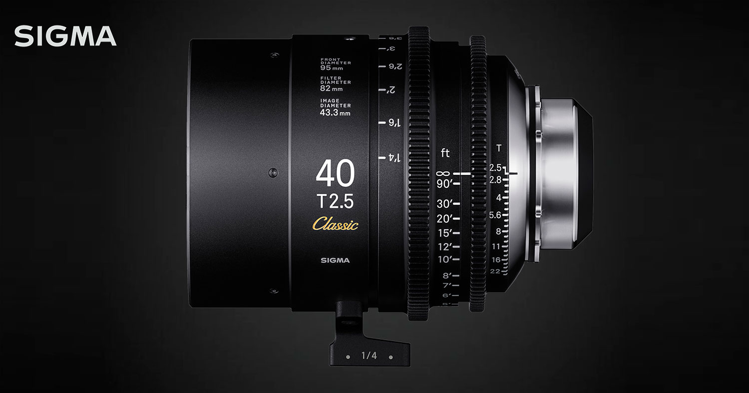 NEWS: SIGMA Welcomes a New Cine Lens Series –