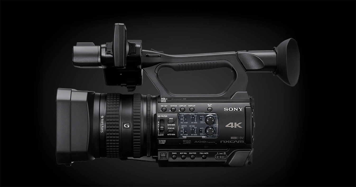 JUST ANNOUNCED: Sony Introduces the new HXR-NX200 at IBC 2018