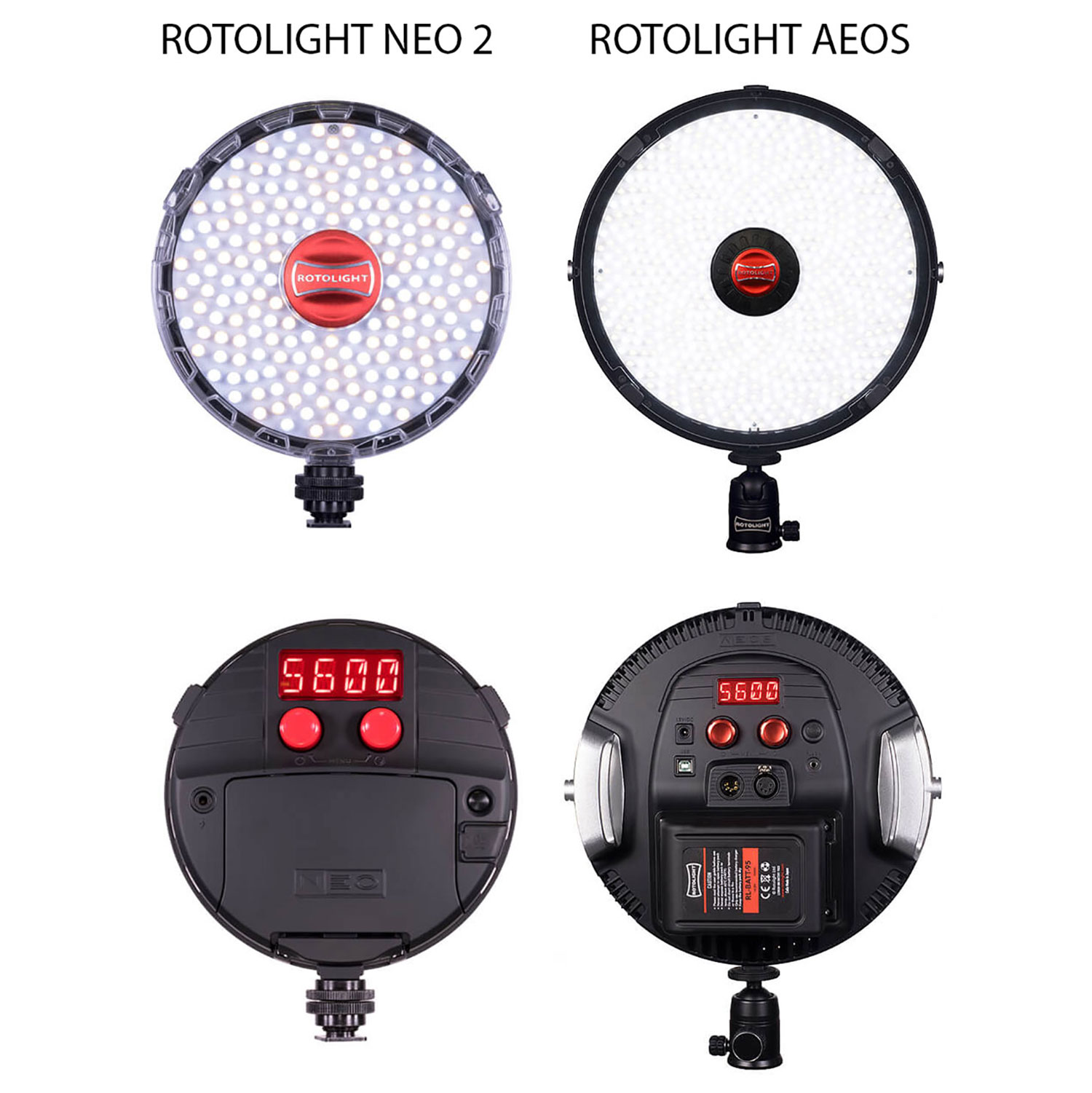 VIDEO: Testing out the Rotolight AEOS & Neo 2, using Lastolite modifiers