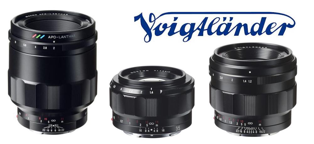New Full Frame Voigtlander Lenses For Sony E Mount