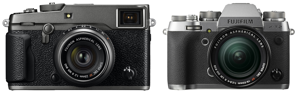 New Fujifilm Graphite Silver X-T2 and Graphite X-Pro2 Editions